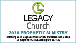 Prophetic Ministry: December 2020 (9am)