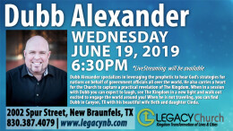Dubb Alexander - Special Guest (6/19/19)