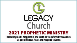 Prophetic Ministry: March 2021
